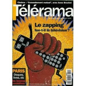 Télérama - n°2344 - 14/12/1994 - Le zapping tue-t-il la télé ?  [magazine mis en vente par Presse-Mémoire]