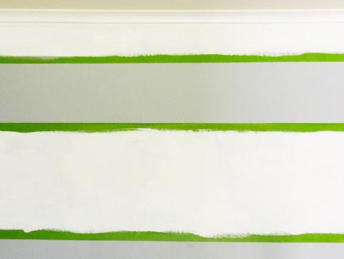 Play Room - Painting Horizontal Stripes