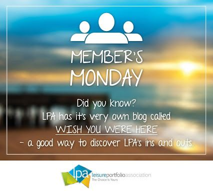 Leisure Portfolio Association - It's #membersmonday