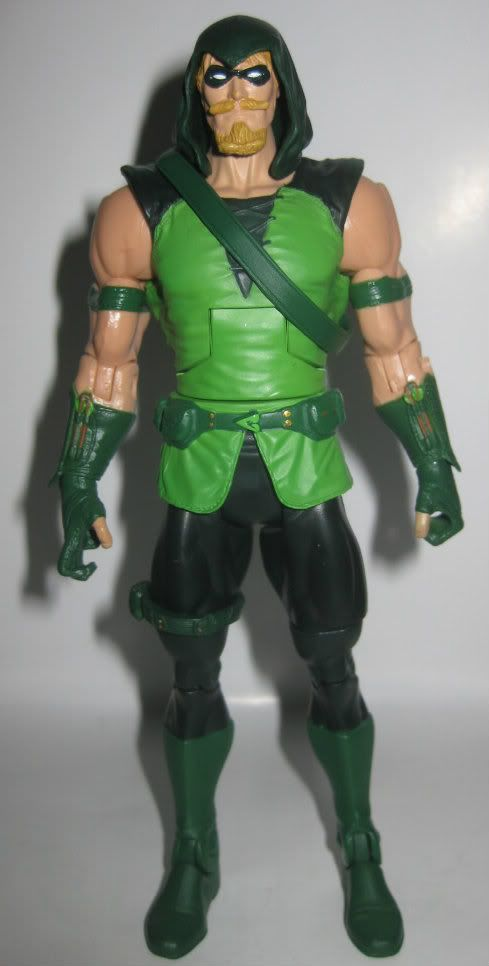 Green Arrow Action Figure! Want!