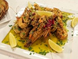 Spanish Style Florida Shrimp featured on Season Four of Emeril's Florida on The Cooking Channel.