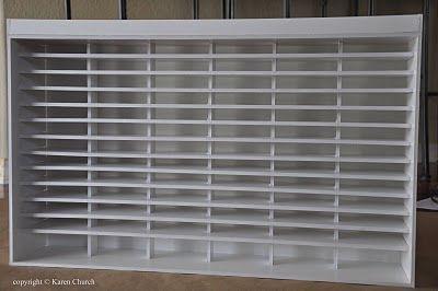 Syzygy of Me: Foam Board Project Dimensions #foamboardinkholder #craftroomorganization