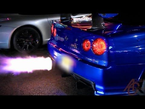 Nissan Skyline Gtr R34 From Hell   YouTube