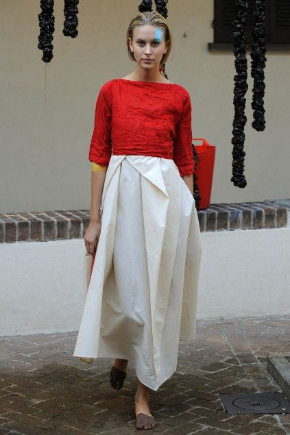 Daniela Gregis - her style is simple and very classy...