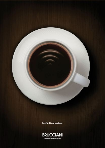 I think Mc D did this one allready. But this one is nice to.    Brucciani: Wi-Fi