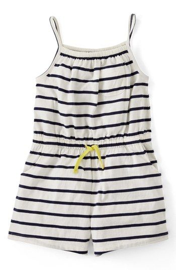 Mini Boden Jersey Playsuit (Toddler Girls, Little Girls & Big Girls) available at #Nordstrom