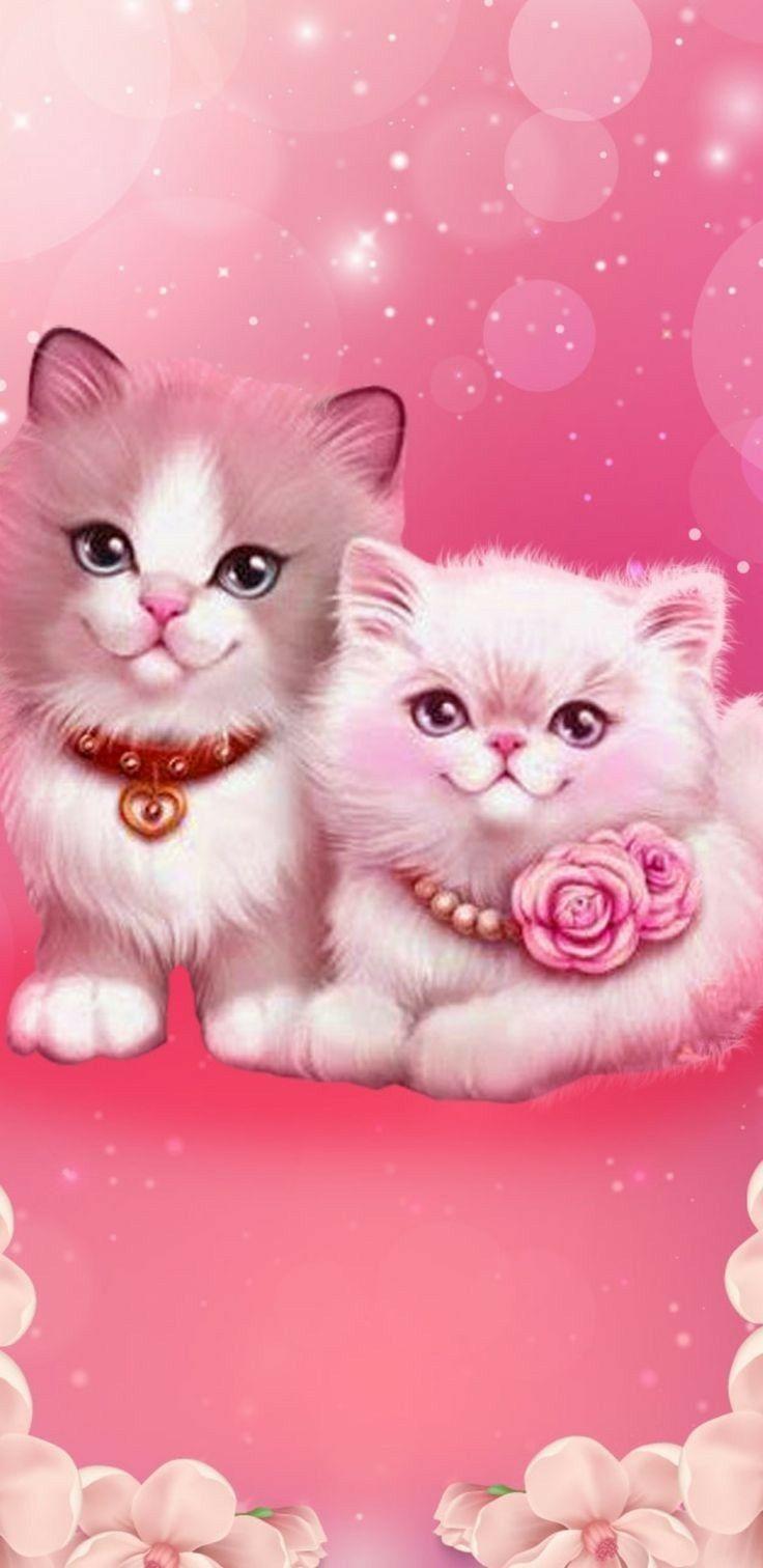 Pin By Karen Thompson On Cats Cute Animal Drawings Cute Cat Wallpaper Cat Wallpaper