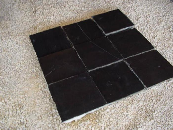 Antieke stenen vloeren en tegels (vloertegels en wandtegels)   Michel Verschaeve