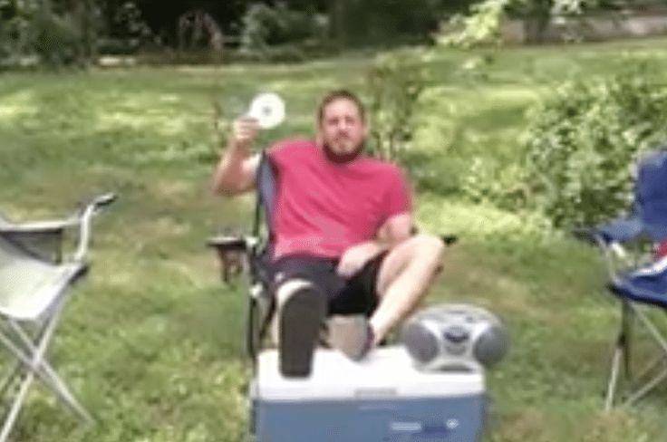 'Uncle Rob' Shows You an Explosive Way to Listen to a Luke Bryan CD
