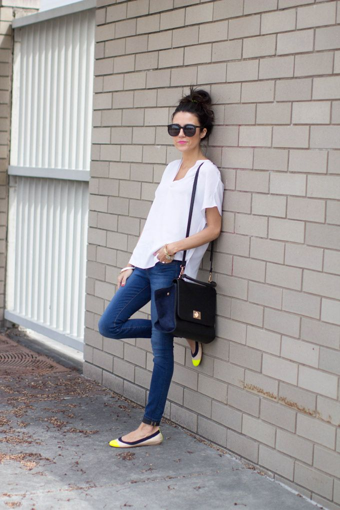 Love this simple outfit...Hello Fashion: Flats