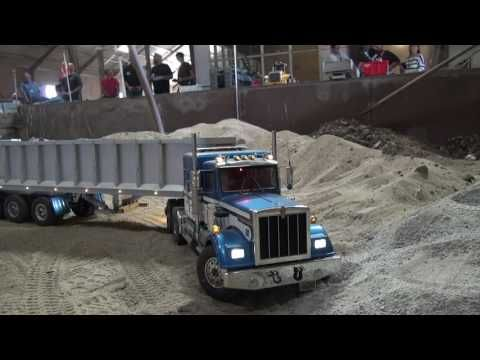 Rc Truck (27-08-2016, Working in sand) - YouTube