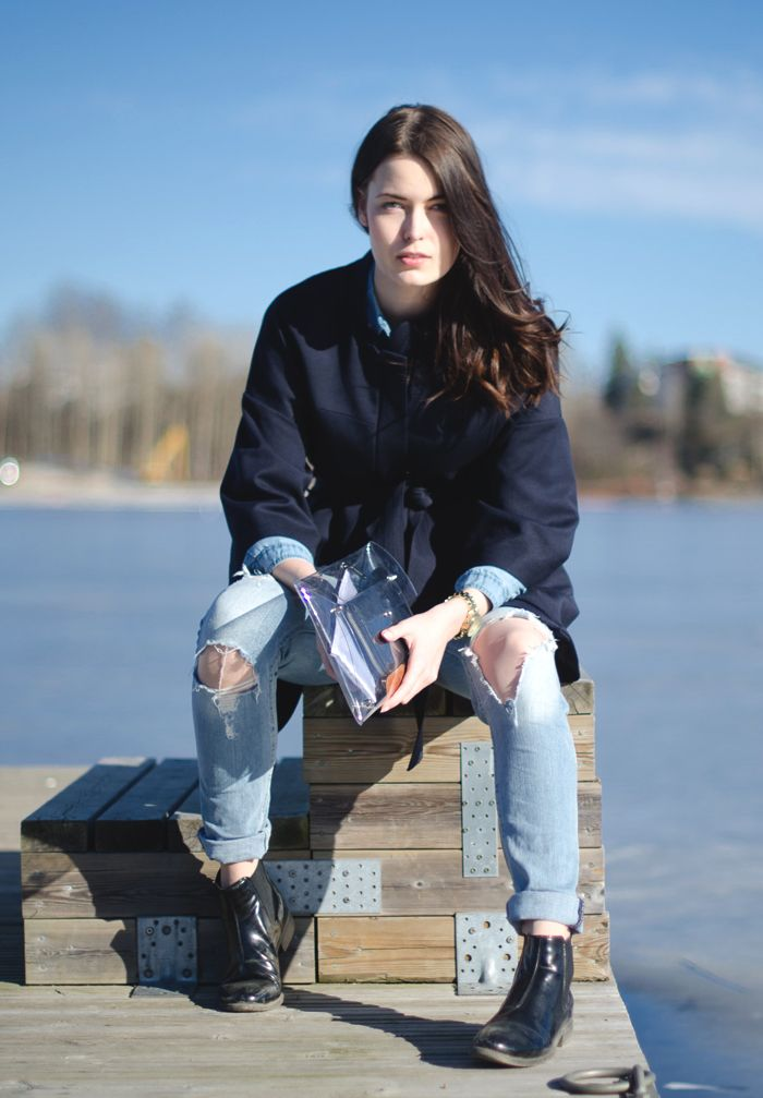 Fashion Tipsy: Favourite match: denim on denim | Outfit post. http://fashiontipsy.blogspot.fi/2014/03/favourite-match-denim-on-denim-outfit.html
