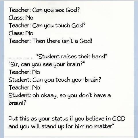 I believe in God I am a Christian I love God