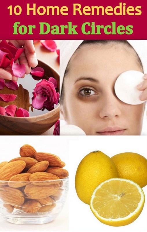 10 Effective Home Remedies to get rid of dark circles under your eyes. http://www.feminiya.com/10-handy-home-remedies-for-dark-circles/