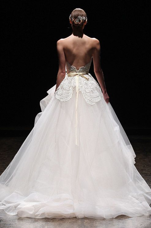 26 best spring 2015 images on pinterest lazaro bridal for Where to buy lazaro wedding dresses