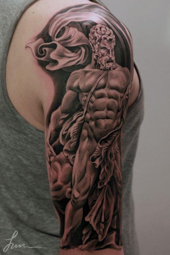 Bilderesultat for greek mythology rib tattoo