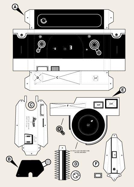Как сделать из бумаги фотоаппарат открытку видео