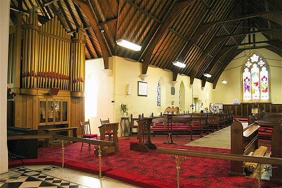 St Matthew's Anglican Church New Norfolk Tasmania Australia's oldest church.
