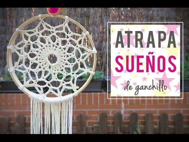 Cómo hacer un atrapasueños ganchillo | Crochet dreamcatcher