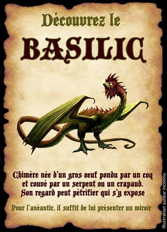 affiche basilic                                                                                                                                                                                 Plus