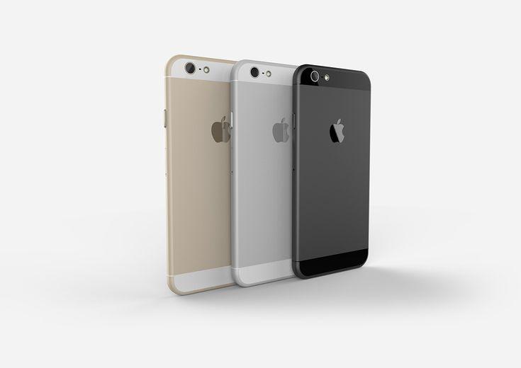 [謠言] 根據最新謠言製作的iPhone 6 3D模型圖,好看多了! | MacUknow