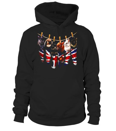 """# Cute Bunnies inside Union Jack Stocking, UK Rabbit T-Shirt .  Special Offer, not available in shops      Comes in a variety of styles and colours      Buy yours now before it is too late!      Secured payment via Visa / Mastercard / Amex / PayPal      How to place an order            Choose the model from the drop-down menu      Click on """"Buy it now""""      Choose the size and the quantity      Add your delivery address and bank details      And that's it!      Tags: Great gift for bunny…"""