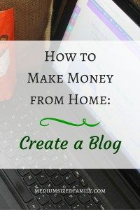 How to Make Money from Home- Create a Blog You've been searching for ways to make money from home while you raise your kids. Have you ever considered blogging? It takes a lot of work to turn a blog into a money maker. But for hard workers, the reward can be great!