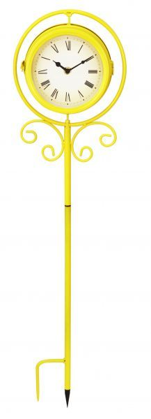 Yellow Clock With Spike