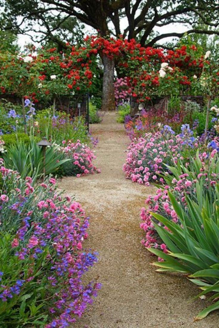 Flower Garden Ideas Kebun Bunga Kebun Bunga