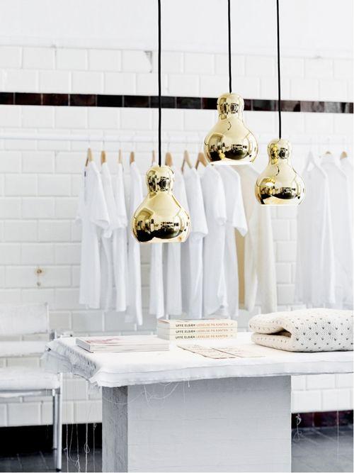White & gold.