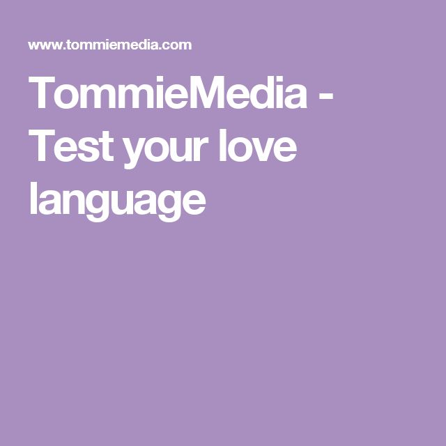 1000+ ideas about Love Language Test on Pinterest | Love ...