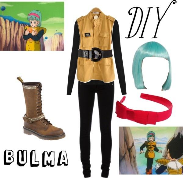 """DIY: Bulma Costume"" by missstevierae on Polyvore"