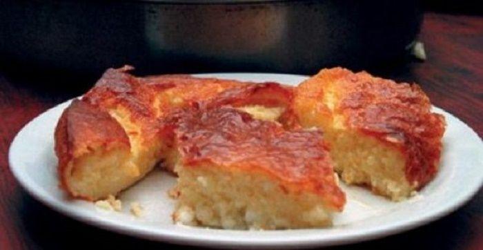 Μια συνταγή για μια εύκολη, πεντανόστιμη τυρόπιτα χωρίς φύλλο