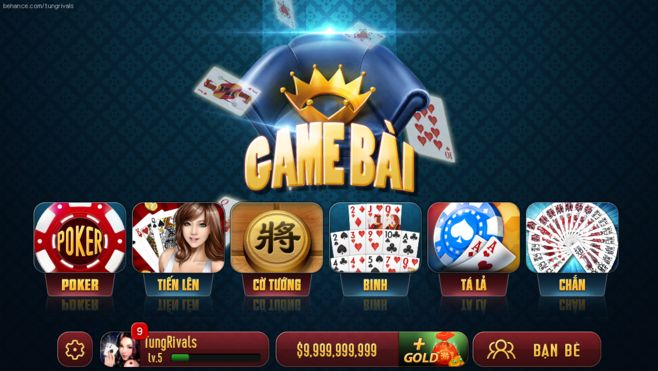 King of Cards game :...