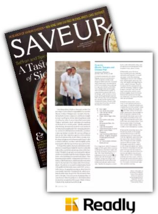 Suggestion about Saveur Apr 2016 page 70