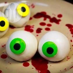 Rezeptbild: Gruselige Augen zu Halloween