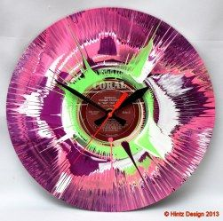 Old timeless vinyl records meet new waves ofcolors