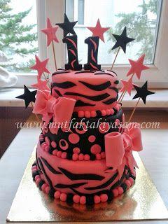 11 Yaş Doğum günü pastası