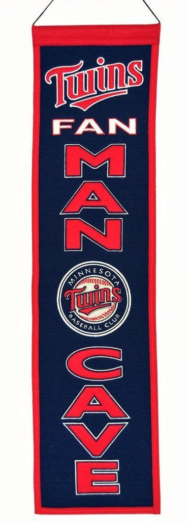 Minnesota Twins Banner Wool Man Cave