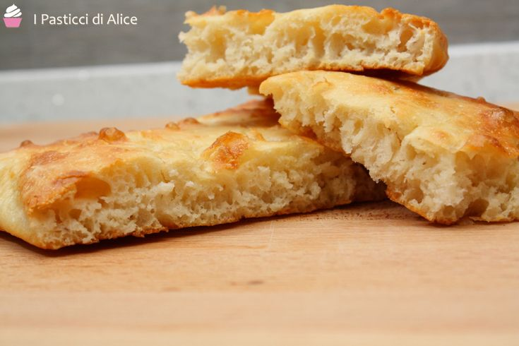 Focaccia senza impasto #ricetta di @pasticcialice