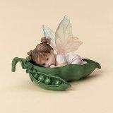 baby fairy in pea pod