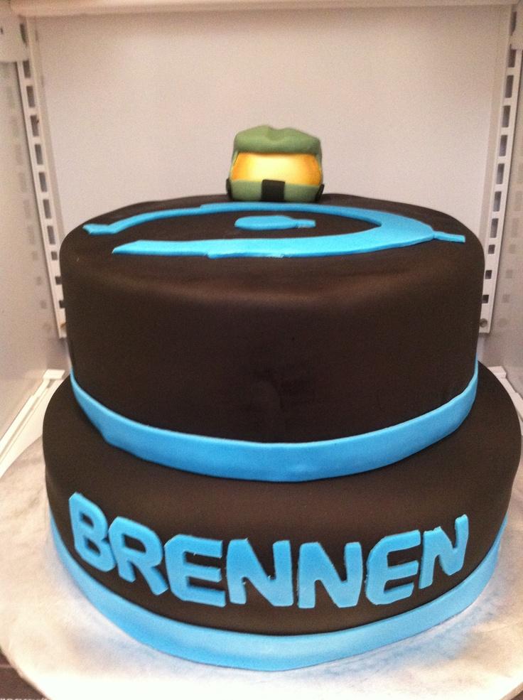 Halo Birthday Cake Cakes Pinterest Halo Birthday
