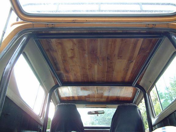 1979 International Scout II - sweet interior of hard top