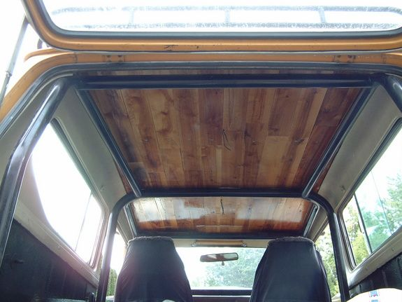 1979 International Scout II - sweet interior of hard top