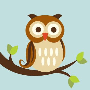 Gorgeous Forest Friends Owl Canvas by the talented MillyBee