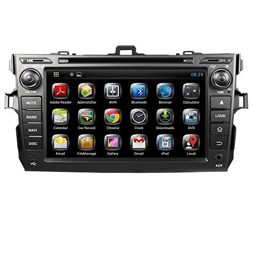 Top-Navi 8 inch Android 4.2.2 Car PC DVD Player for Toyota COROLLA 2006 2007 2008 2009 2010 2011 GPS navigation Wifi Bluetooth Radio 1.6 GB CPU DDR3 Capacitive Touch Screen 3G stereo audio - http://www.productsforautomotive.com/top-navi-8-inch-android-4-2-2-car-pc-dvd-player-for-toyota-corolla-2006-2007-2008-2009-2010-2011-gps-navigation-wifi-bluetooth-radio-1-6-gb-cpu-ddr3-capacitive-touch-screen-3g-stereo-audio/