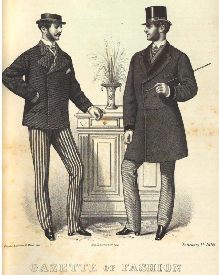 late victorian fashion men - photo #14