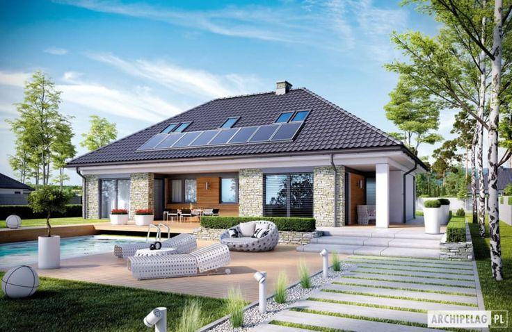 Descubra fotos de Habitações por Pracownia Projektowa ARCHIPELAG. Encontre em fotos as melhores ideias e inspirações para criar a sua casa perfeita.
