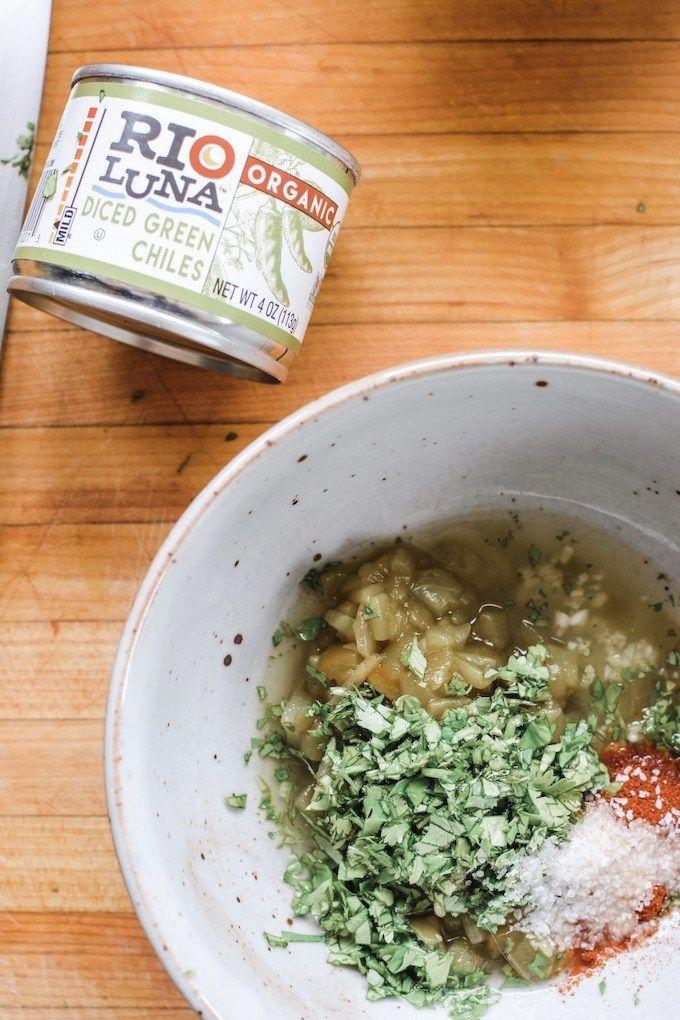 Grilled Veggie Skewers With Smoky Green Chile Vinaigrette Recipe Veggie Skewers Cilantro Recipes Vegetarian Vegetarian Recipes Easy Dinner