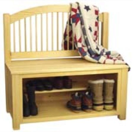 Boot Bench Woodworking Plans Woodworking Projects Plans